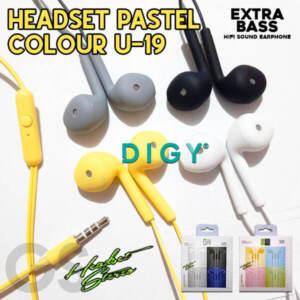 Grosir Distributor Headset Pastel Colour U-19 Murah Jakarta