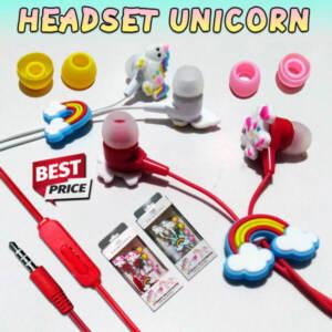 Grosir Distributor Headset Unicorn + Mic Murah