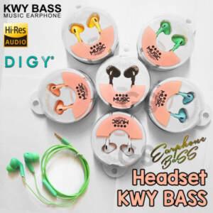 Grosir Distributor Headset KWY BASS Murah dan Berkualitas Jakarta