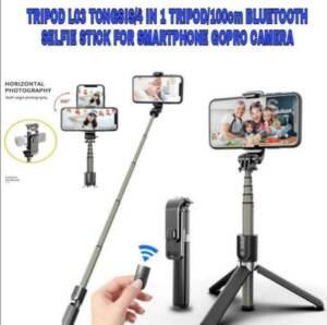 Grosir Distributor Tripod + Tongsis K10 Selfie Stick 3 in 1 + Bluetooth Murah dan Berkualitas - Jakarta