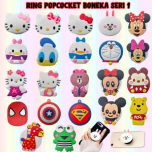 Grosir Distributor Ring Popsocket Boneka Seri 2 BT21 Murah Kekinian Jakarta