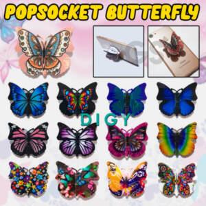 Grosir Distributor Ring Popsocket Kupu-Kupu 3D Murah Jakarta