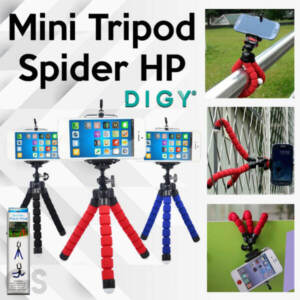 Grosir Distributor Tripod Mini Spider + Holder Murah Berkualitas Jakarta