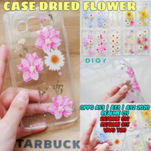 Grosir Distributor Case Fuze Acrylic Dried Flower Kekinian - Jakarta