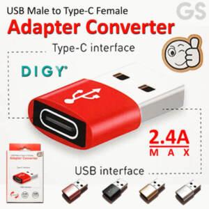 Jual Adapter Converter USB Male to Type C Female Murah - Harga Terbaru 2020 l Toko Acc HP Jakarta