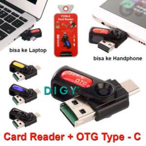 Jual Card Reader + OTG Type C Murah dan Terlengkap - Jakarta