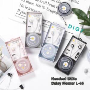 Jual Set Headset Litte Daisy L-45 Murah dan Kualitas Bass l Jakarta