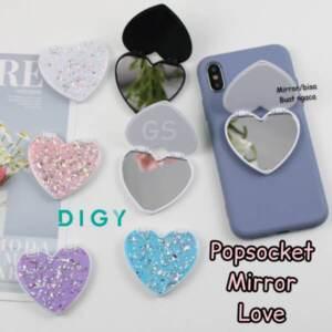 Grosir Distributor Popsocket Mirror Love Elegan - Jakarta