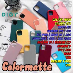 Grosir Distributor Softcase Silicon Polos Matte Colour Terlengkap- Jakarta