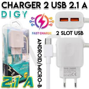 Grosir Distributor Charger 2 USB 2.1A Murah dan Berkualitas - Jakarta