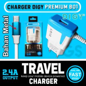 Grosir Distributor Charger Koper DIGY 3 in 1, + Kabel Data | Charger Hp Murah dan Berkualitas - Jakarta