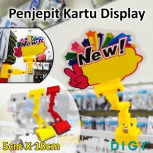 Grosir Distributor Penjepit Kartu Display Pajangan Toko Harga Termurah - Jakarta
