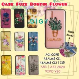 Grosir Distributor Case Hp Bergambar Bordir Motif Flower Murah dan Terlengkap - Jakarta