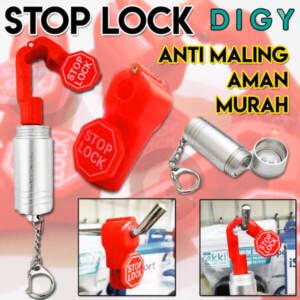 Grosir Distributor Pengunci Ram Display Toko Stoplock + Kunci Magnet Termurah - Jakarta