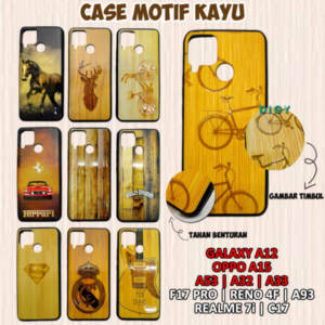 Grosir Casing Hp Terlengkap Case Hp Motif Kayu