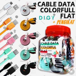 Grosir Distributor Kabel data Colourfull For Micro Terlengkap - Jakarta