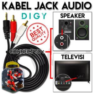 Jual Grosir Kabel Jack Audio 2 in 1 Murah dan Berkualitas - Jakarta