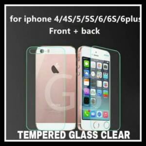 Pusat Grosir Tempered Glass 2 in 1