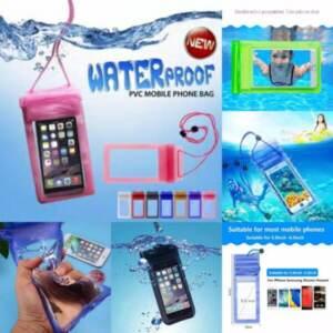 Grosir Sarung Hp Anti Air/Waterproof Hp Case Universal Polos