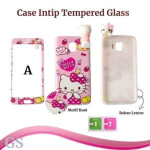Pusat Grosir Soft Case Gambar + Tempered Glass Termurah
