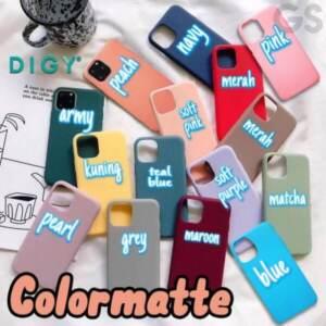 Grosir Softcase Colour Matte TPU Silicon Case di Roxy