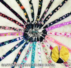 Grosir Tali Gantungan Hp Panjang Motif Bunga Terbaru