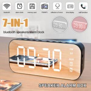 Grosir Speaker Sound Box Bluetooth Mirror Termurah