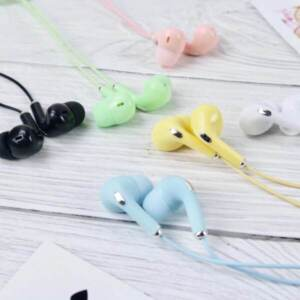 Supplier Handsfree/Earphone Bass Universal Candy Macaron di Roxy