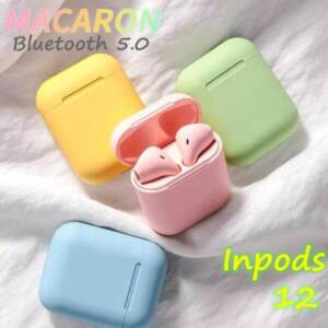 Grosir Distributor Inpods 12 TWS Headset/Earphone Bluetooth Macaron Colour