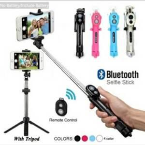 Pusat Grosir Termurah Tongsis Tripod 3 In 1 Remote Bluetooth Selfie Stick