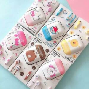 Pusat Grosir Handsfree/Headset Karakter Doraemon Hello Kitty Hands free Handfree