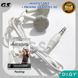 Supplier Hf Headset Mp3 Handsfree Earphone Murah Bagus