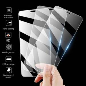 Pusat Grosir Tempered Glass Anti Gores Bening All Tipe Hp