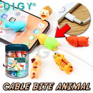 Grosir Pelindung Kabel Bite Cute Animal