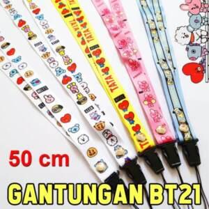 Supplier Tali Gantungan Hp Karakter BT21 Lanyard