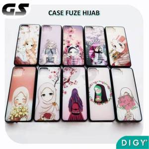 Grosir Case Fuze Gambar Motif Hijab Muslimah