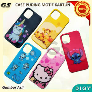 Grosir Case/Casing Hp Pudding Motif Kartun Lucu
