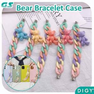 Grosir Bear Chain Casing/Bracelet Case Lucu