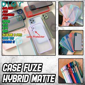 Reseller Case Hp Fuze Hybrid Matte Lens Polos Terbaru Di jakarta