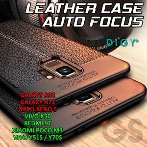 Grosir Casing Hp Leather Auto Focus Type Hp Termurah Dijakarta