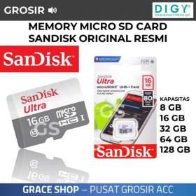 Supplier Distributor Micro SD Card Sandisk 8GB Berkualitas Termurah Di Jakarta Barat